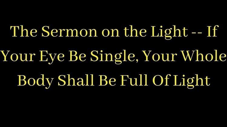 Podcast: Sermon Light -- Eye Si - santmat | ello