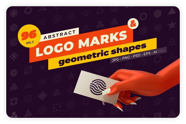 unique Abstract logo marks geom - samolevsky | ello