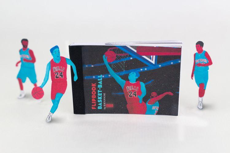 Flip Book Basket-ball - dompteur | ello