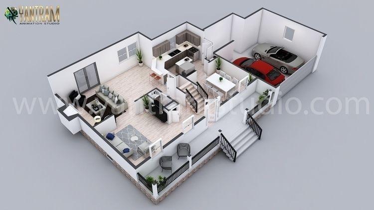 Residential 3D Floor Plan Desig - yantramstudio | ello