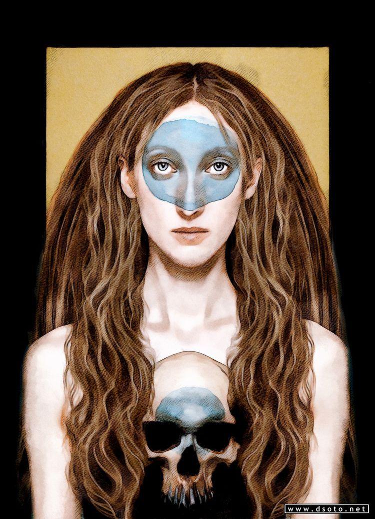 Aina Retrato de mujer. Ilustrac - dsoto | ello