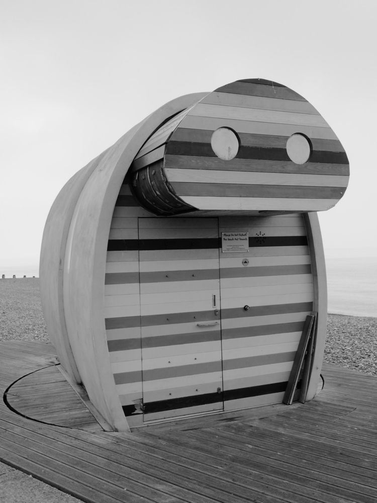 Beach Hut couple quirky beach h - skazman | ello