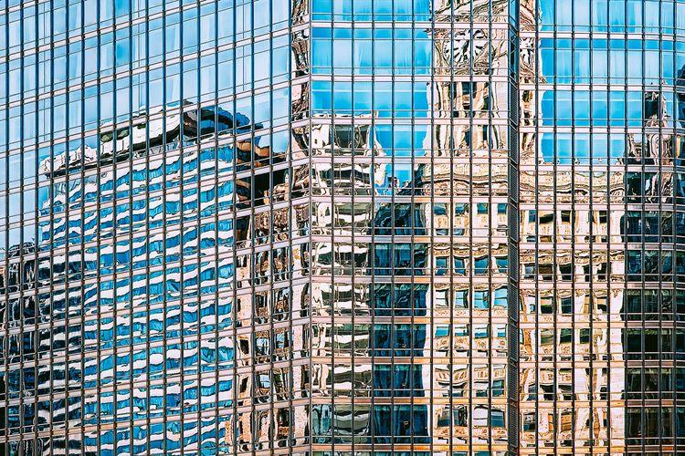 Chicago Reflections Wrigley Bui - scottnorrisphotography | ello