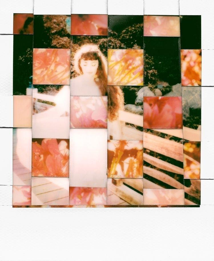 polaroids, instantfilm, experimentalphotography - aglassbrightly   ello