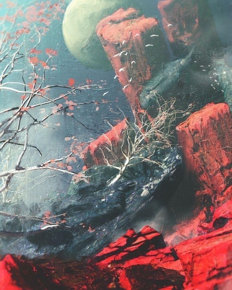 Dream 04 - art, drawing, oil, painting - alexanpimenov | ello
