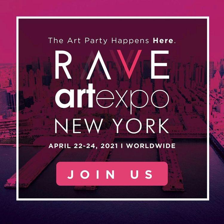 Accept invite RAVE Artexpo York - adamniklewicz | ello
