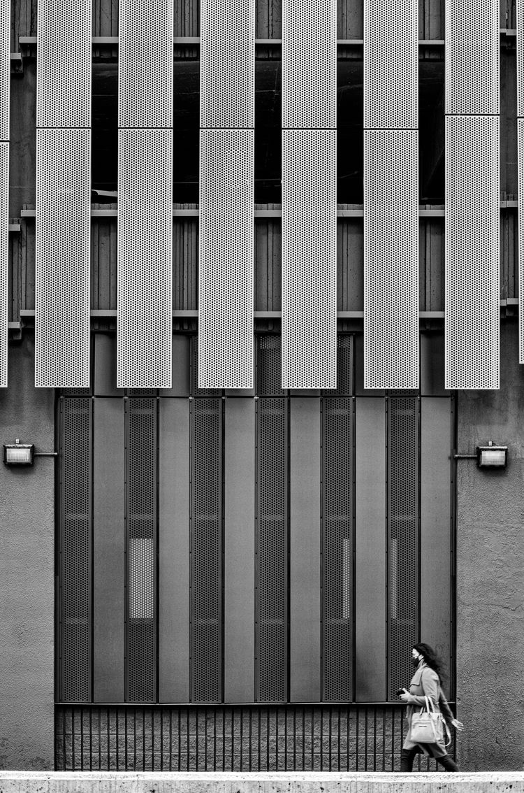 Mask Runner - composition, bnw, streets - jeff_day   ello