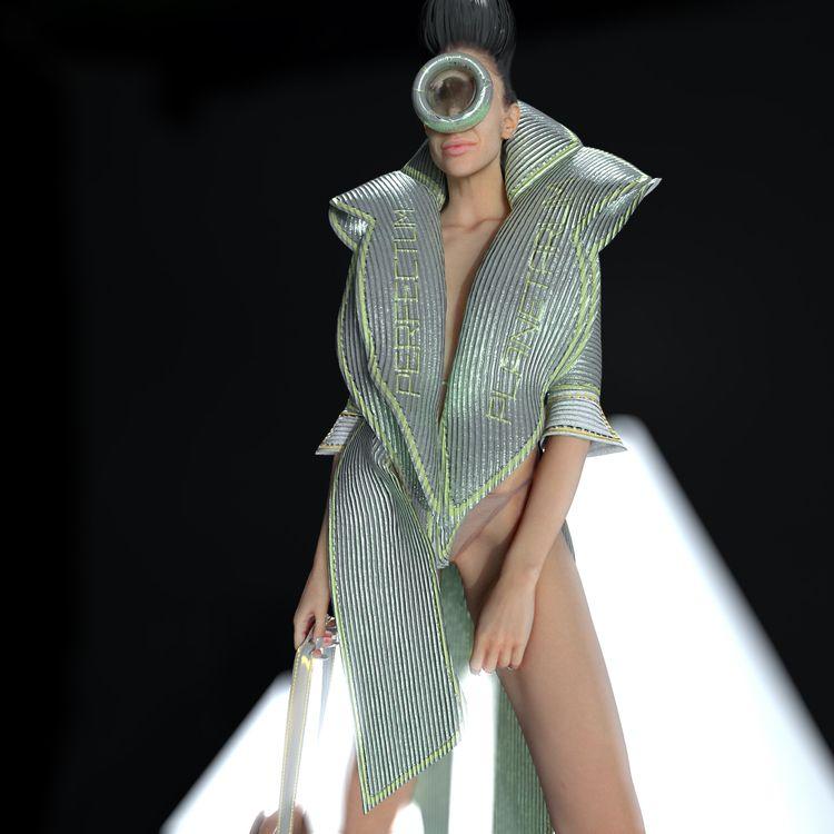 Spring Summer 2021 fashion coll - perfectumplanetarum   ello