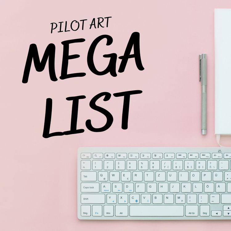 note Pilot Mega-List coming Jun - nathaliequagliotto   ello