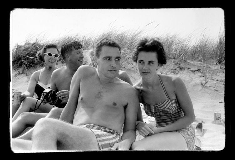 beach 1957 Photograph Nick DeWo - nickdewolfphotoarchive | ello