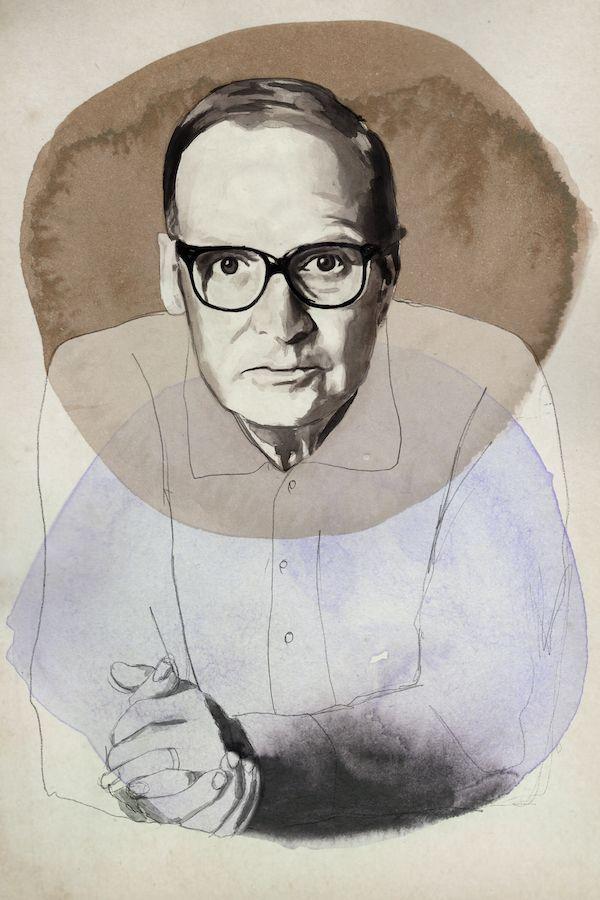 Ennio Morricone Ink paper, 2021 - daviddiehl | ello