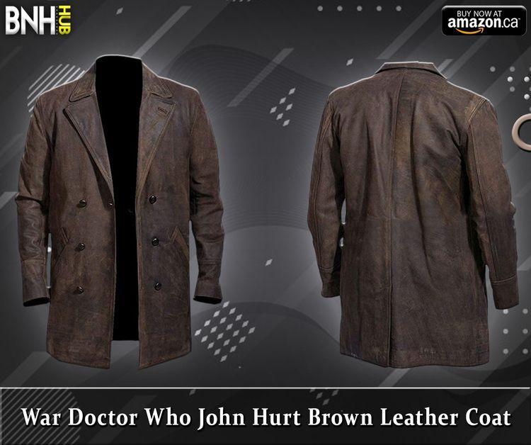 War Doctor John Hurt Brown Leat - bnhleatherhub | ello