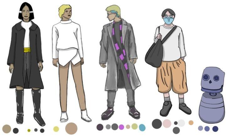 NPCs character sketches 'Concep - learto_ler | ello