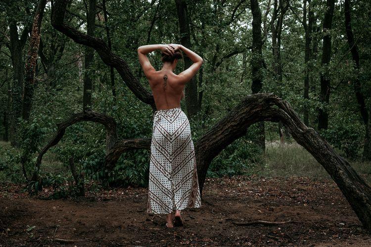 Rainforest - nudeart, artistic, model - _art-of-nature_   ello