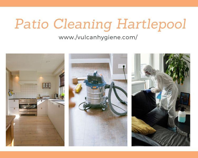 Patio Cleaning Services Hartlep - vulcanhygiene | ello