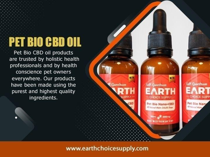 Pet Bio CBD Oil Find details bi - earthchoicesupply   ello
