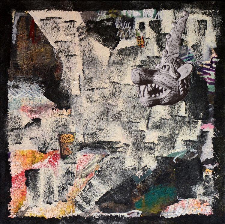 LA BETCHA BOTZI (canvas 40x40)  - chraub | ello