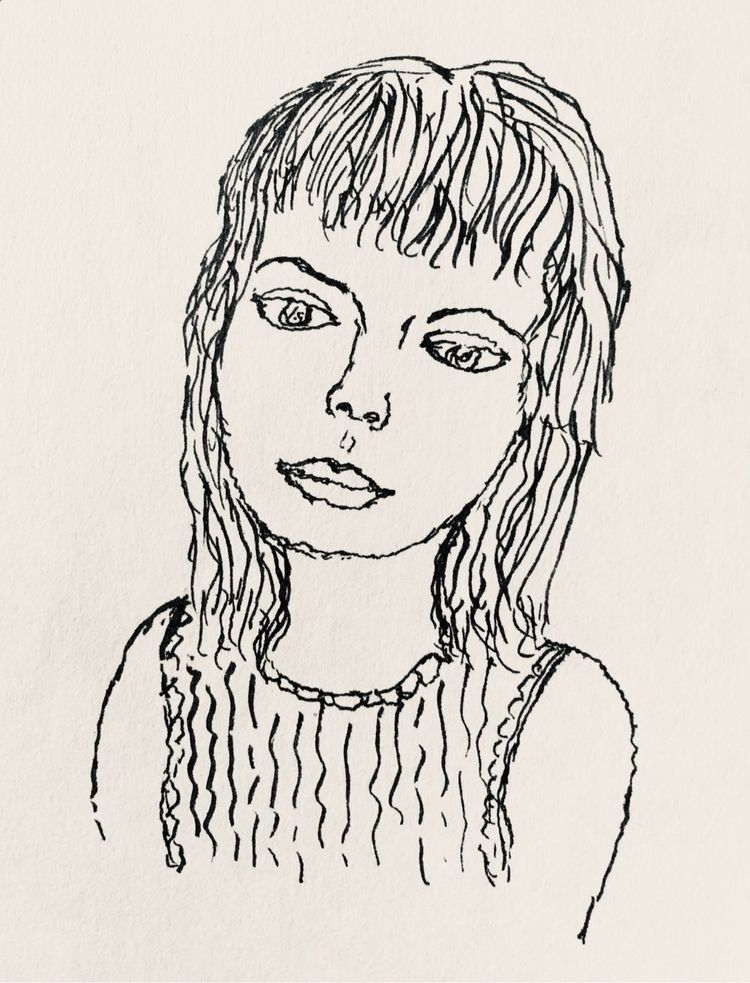 Ink sketch paper - art - katemoriarty | ello