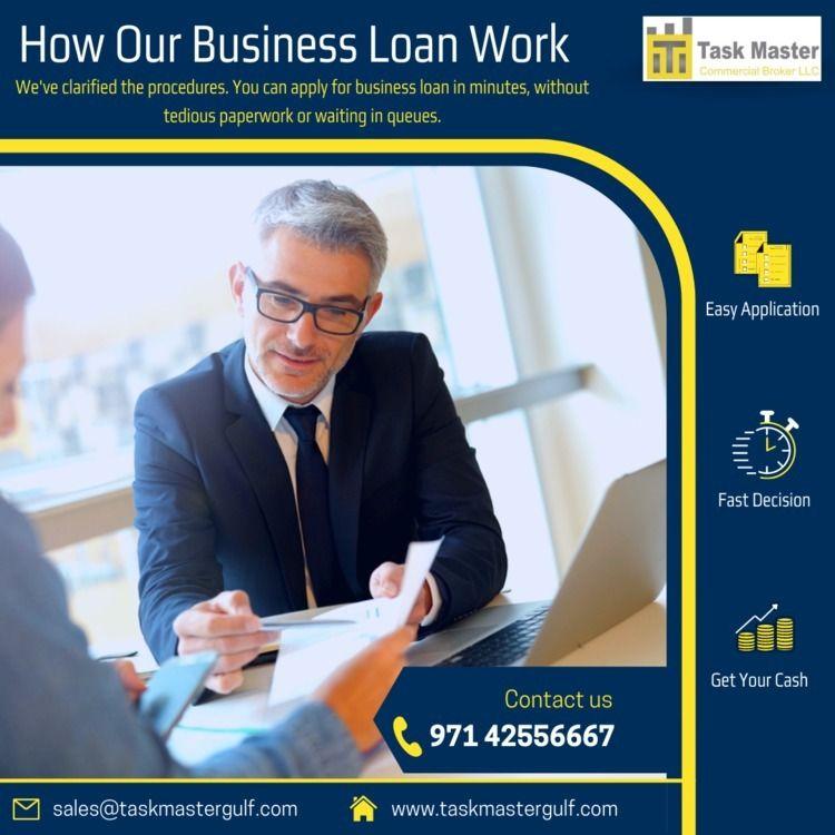 Taskmaster offer buisness loan  - taskmaster | ello