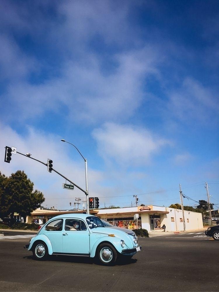 Shades blue VW - vw, volkswagen - tramod | ello