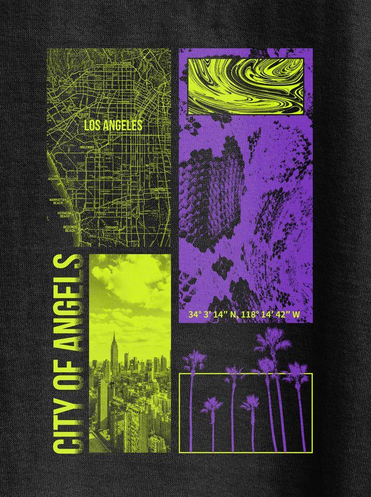Los Angeles - la, design, poster - ferreiraricardo   ello