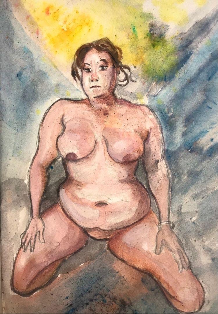 watercolor, figuredrawing, sketchbook - gravesart | ello