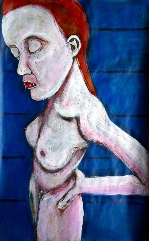 Lauren Isabeau 2021, acrylic pa - artchrisdale | ello