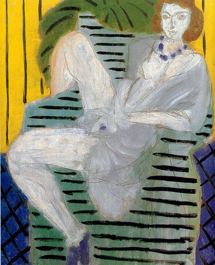 Henri Matisse: Woman Sofa, Yell - arthurboehm | ello