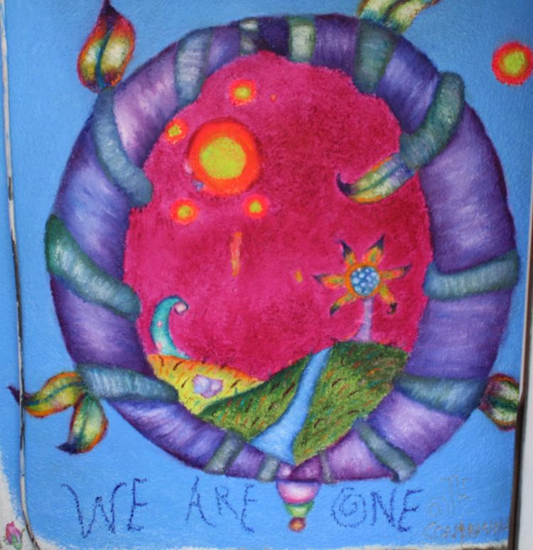 Finally permanent mural Los Ang - thecontaminator | ello