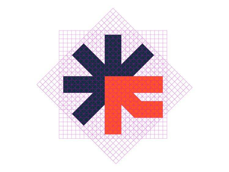 Logo grid Fugit App final logo  - kanhaiyasharma | ello