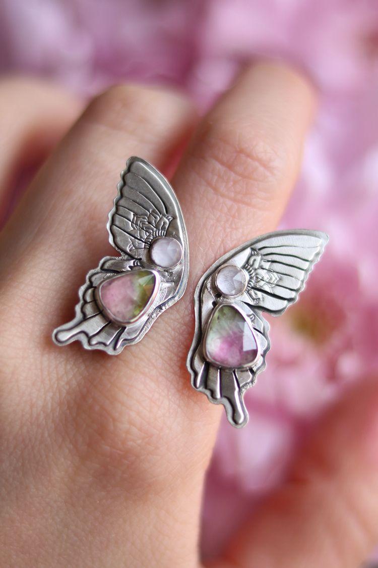 Butterfly open ring beautiful W - stardustmine | ello