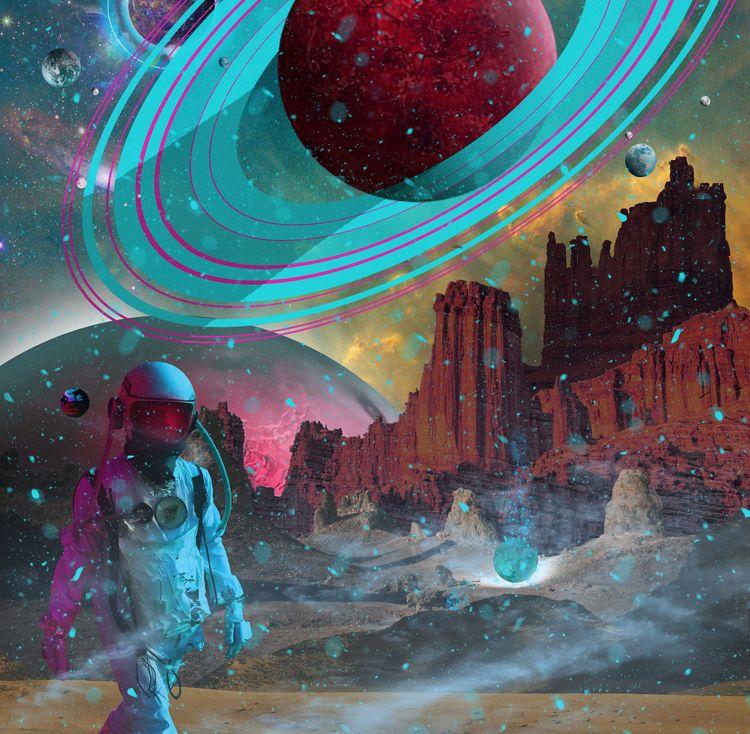 Fresh Deep Space series - photoshop - lobber66 | ello