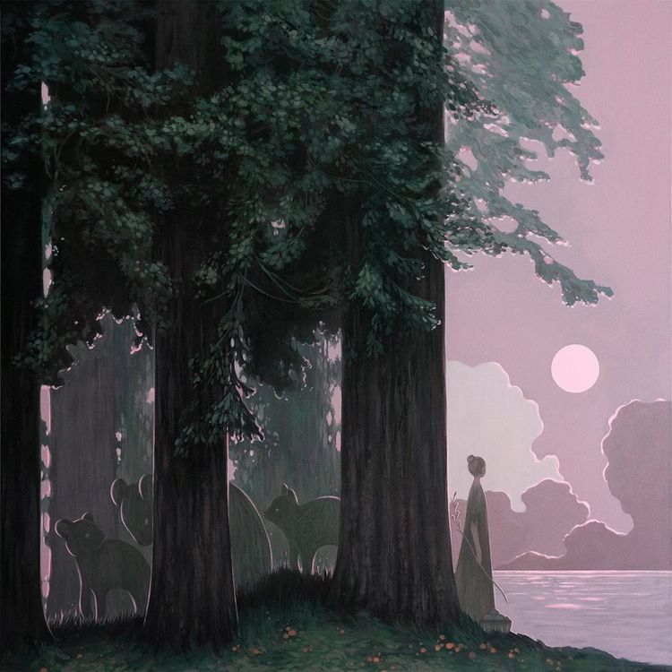 Redwoods Meet Sea' Amy Sol. 20  - geekynerfherder | ello
