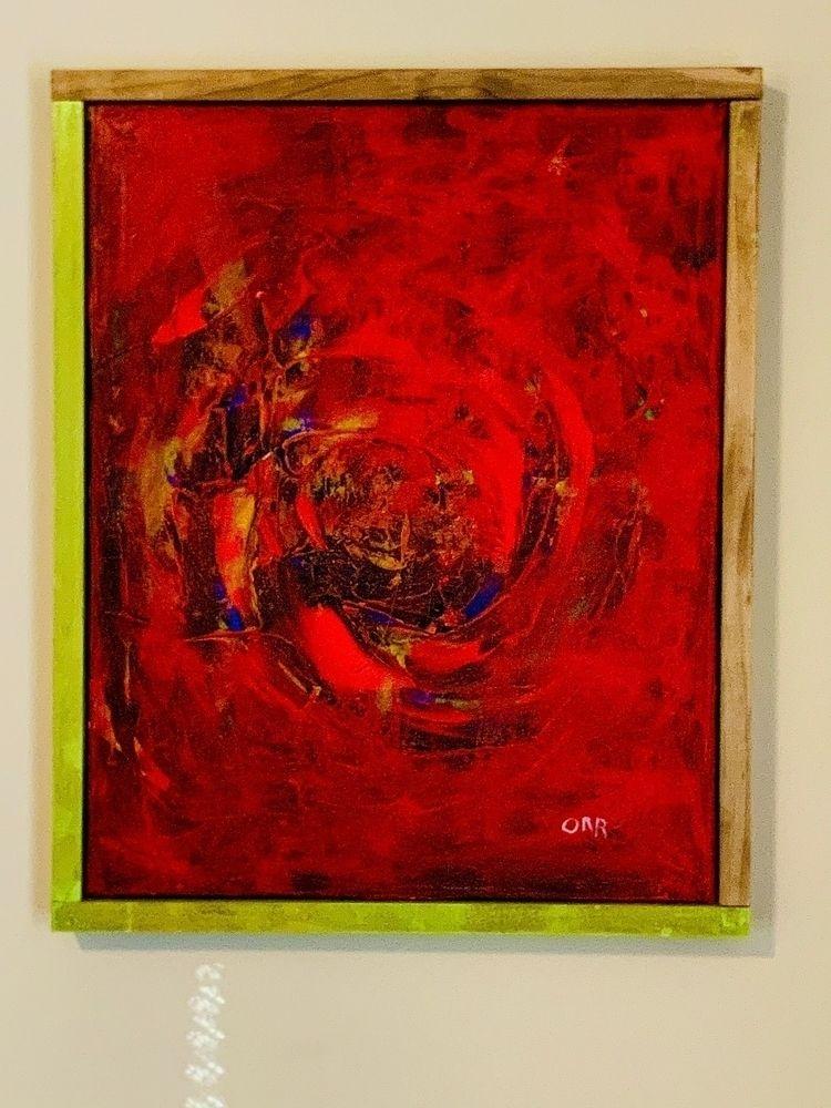 Jason Orr 2019. Acrylic canvas - audorr | ello