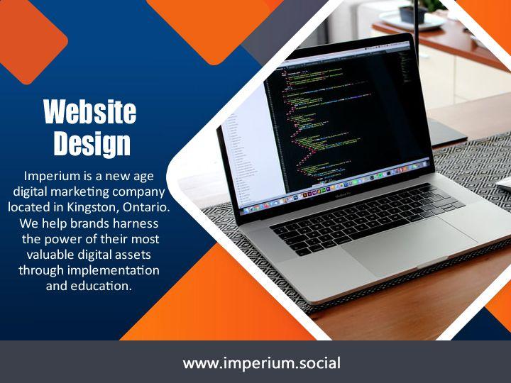 Kingston Website Design design  - imperiumsocial | ello
