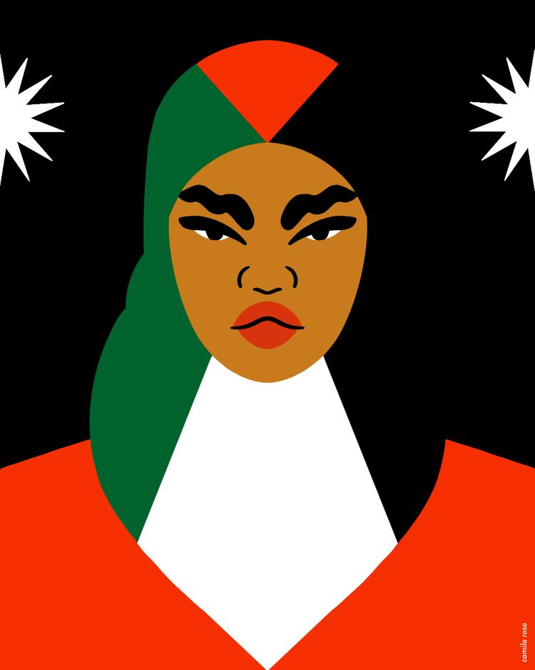 Free Palestine - illustration, art - camixvx | ello