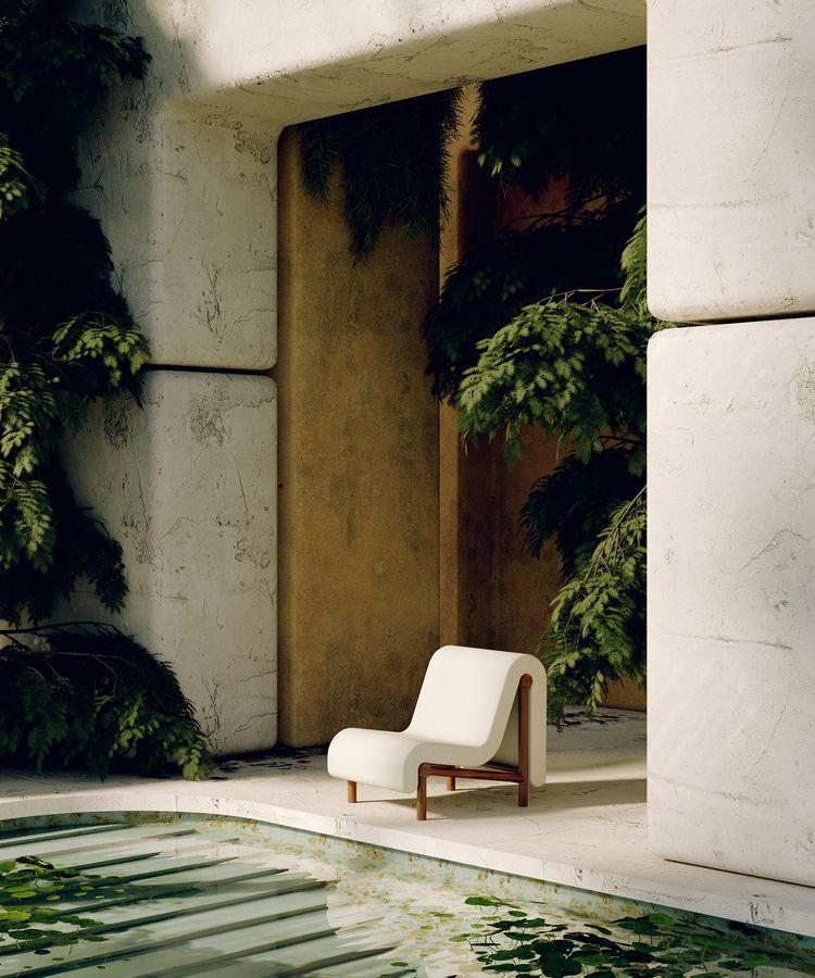 Melt Lounge Chair Bower Studios - thetreemag | ello