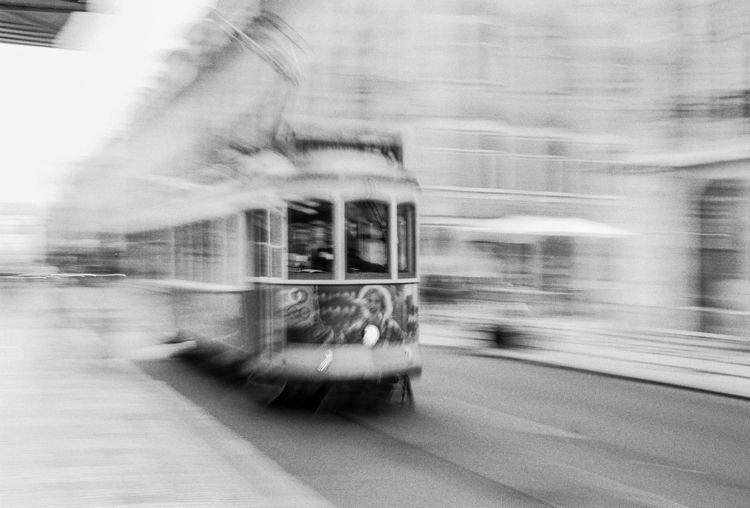 Lisbon Tram Nikon FM2 Nikkor 1 - hjsphoto | ello