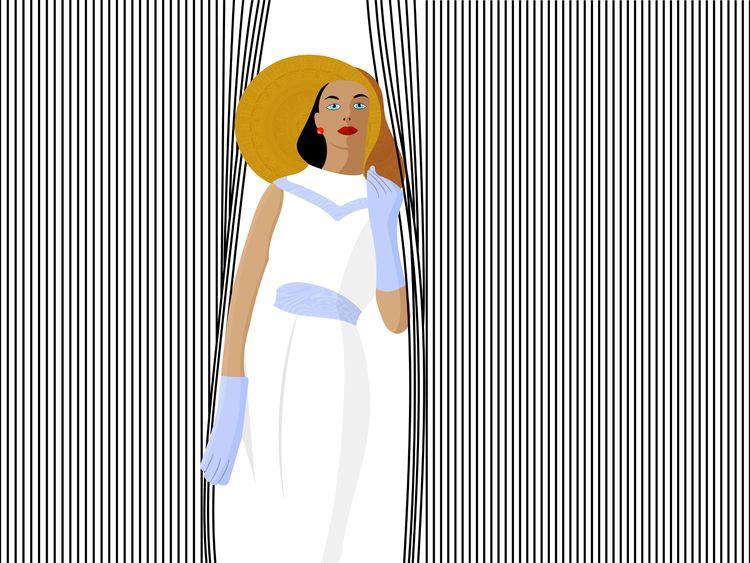 curtains - fashion, woman, dresses - masgraphicdesign | ello