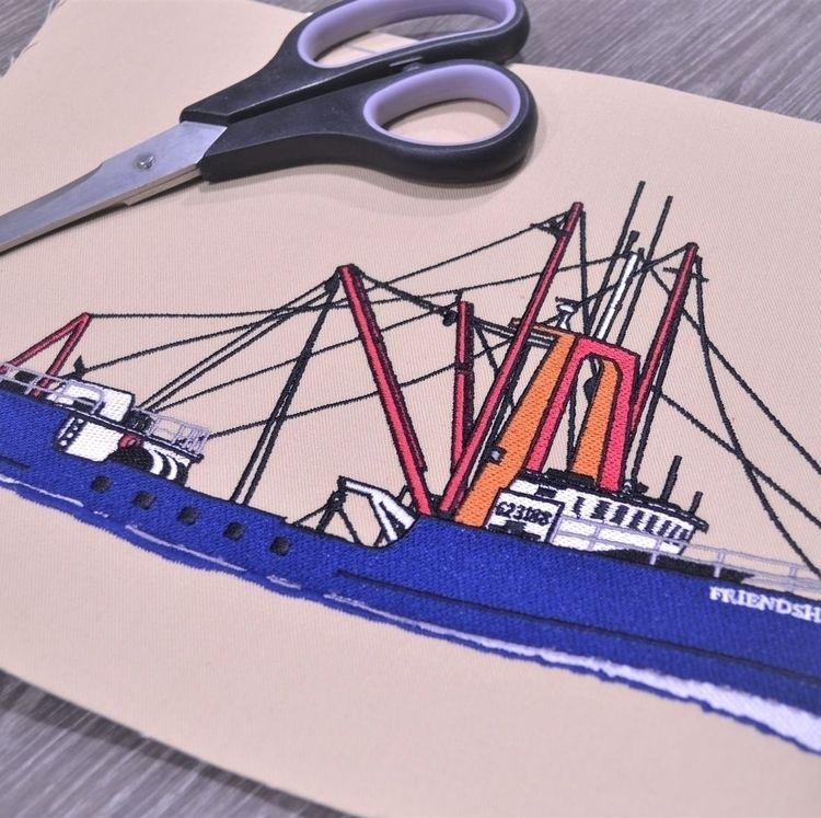 ship digitized client - embroidery - cheap-digitizing | ello