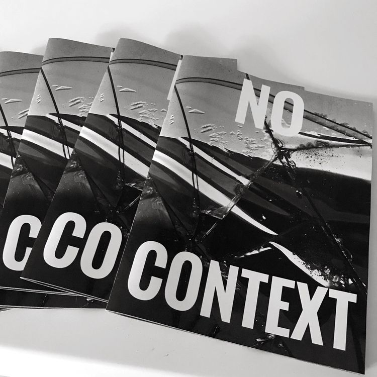 Issue 2 zine picked printer - nocontextzine   ello