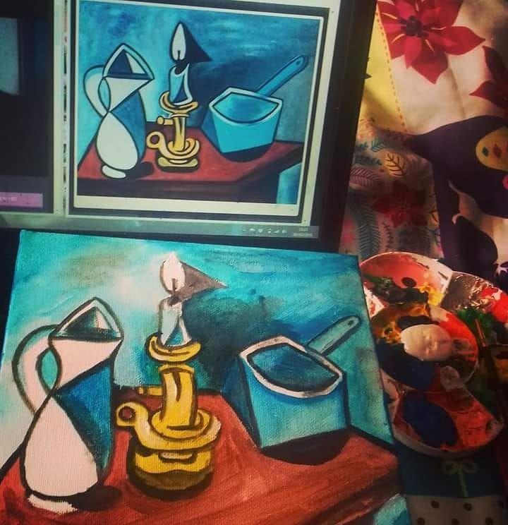 Picasso study Throwback Thursda - ruthohaganartist | ello