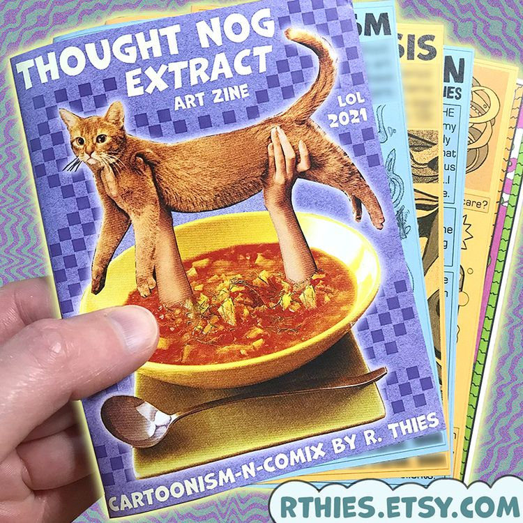 THOUGHT NOG Extract Etsy shop!  - rthies | ello