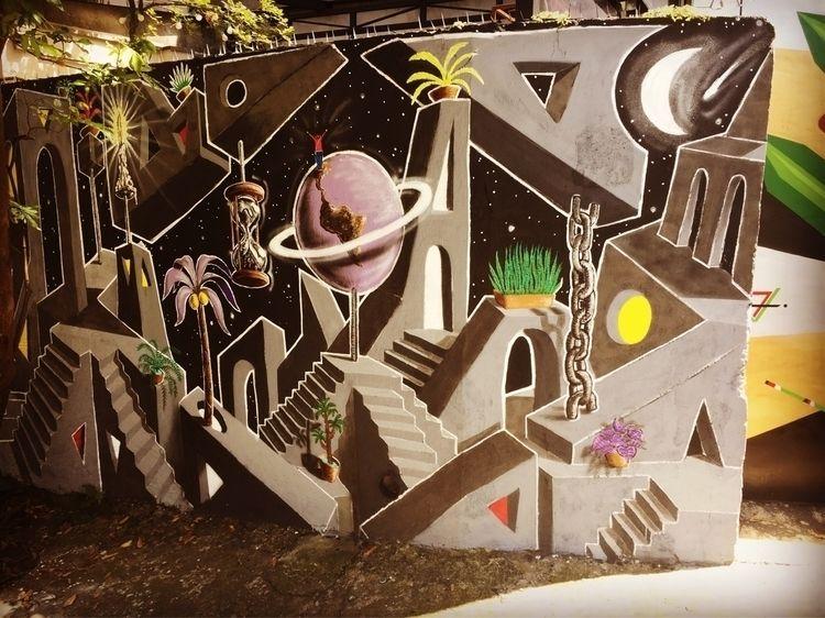 Pinheiros, São Paulo, Brasil  - graffiti, - casparmenke   ello
