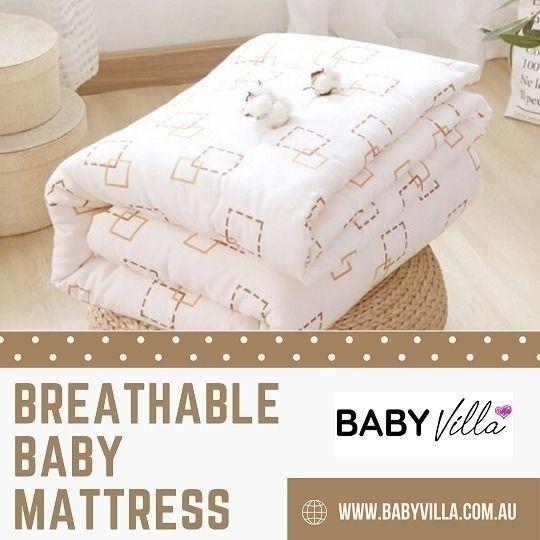 Breathable Baby Mattress - Vill - babyvilla   ello