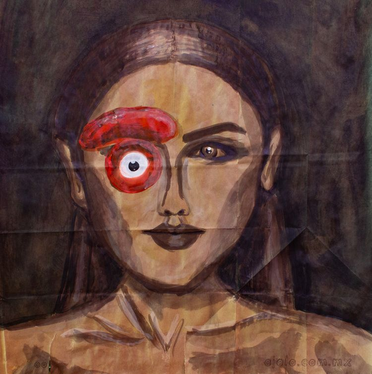 horrible women portraits. acryl - ojolo | ello