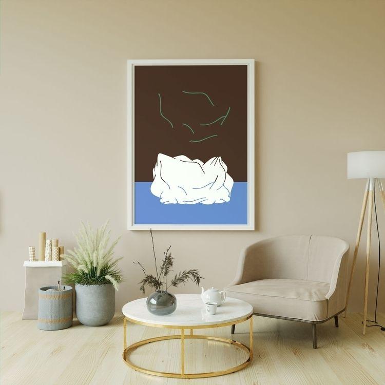 PRINT buy - artgallery, minimalism - moonmambo   ello