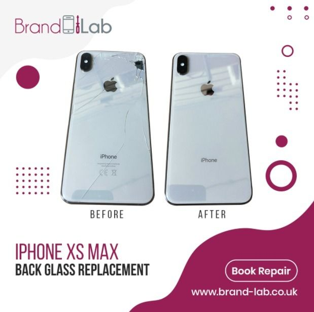 iPhone XS Max good cracked glas - brandlablondonlimited | ello