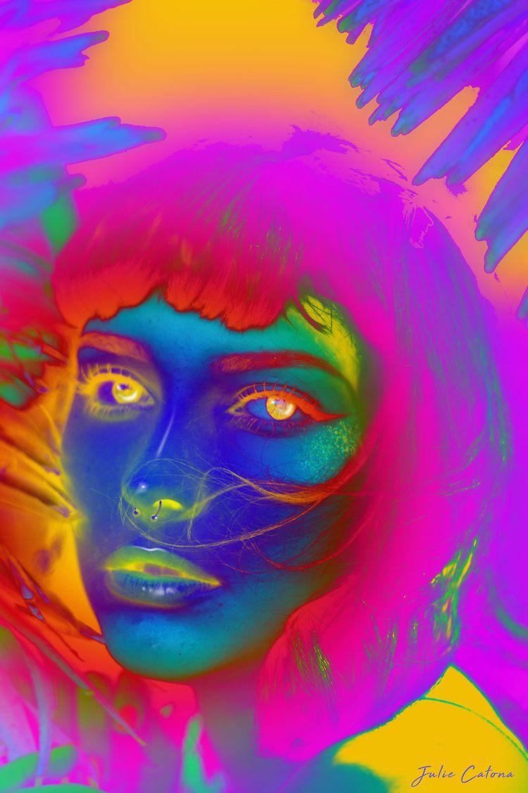 Prismatic Digital Collage 2021 - juliecatona | ello