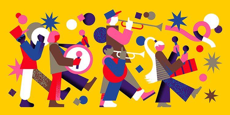 Parata - illustration, design, drawing - alconic | ello